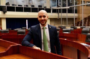 Global UGRAD in Parliament: Edison Broce