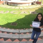 Edymar and her UGRAD Post on her home university campus