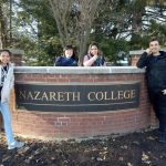 Global UGRAD students at Nazareth College