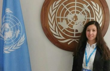 "Nigora Umarova Attends ""Future We Want"" Model UN"